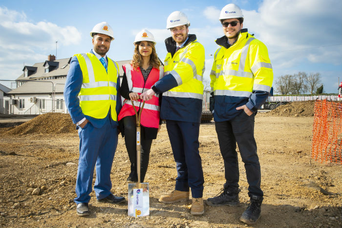 ground-breaking-at-certas-hgv-fuel-bunker-site-northamptonshire